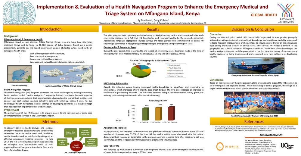 Implementation and evaluation of a Health Navigation Program
